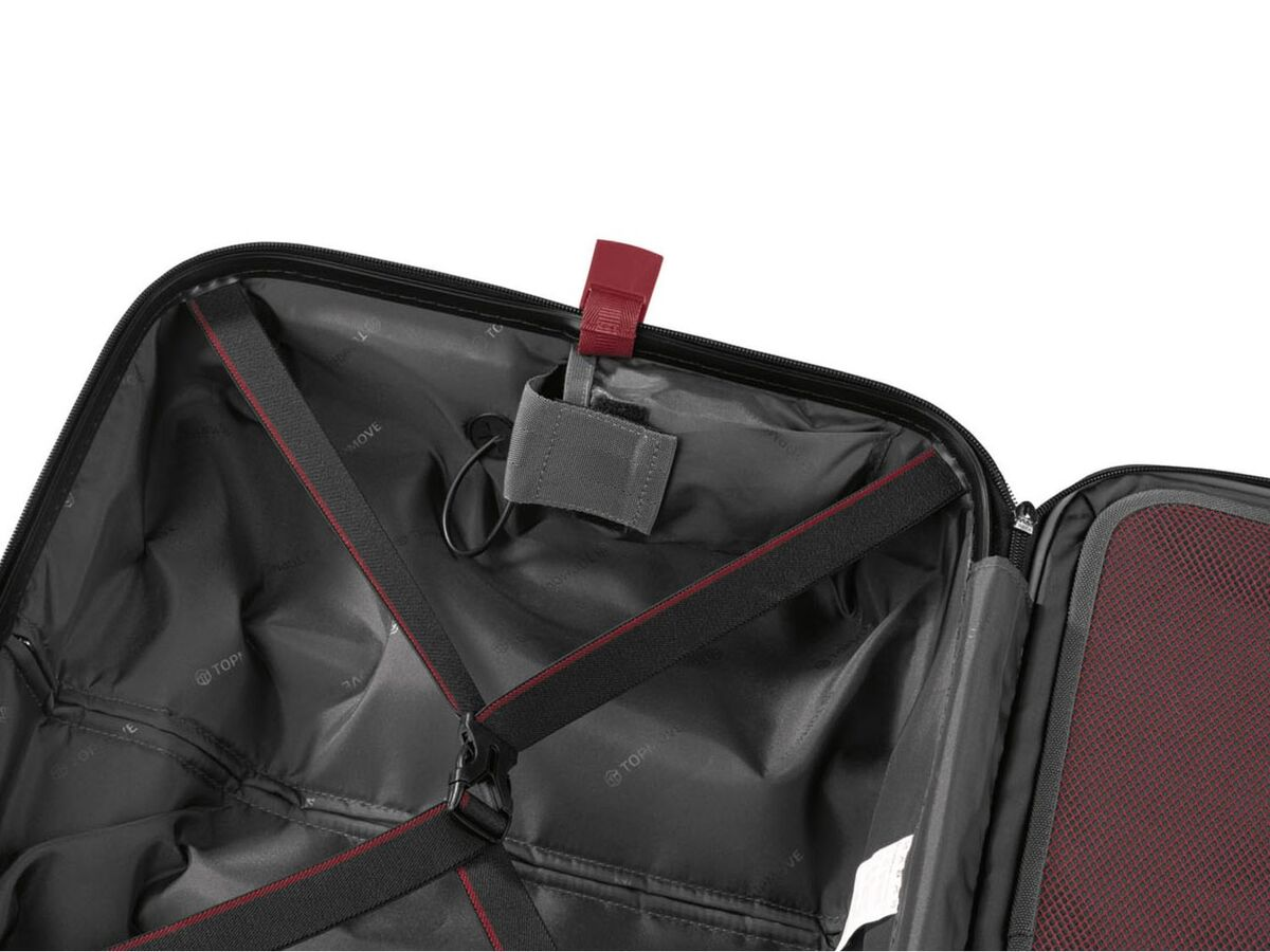 Bild 16 von TOPMOVE® Polycarbonat Business-Trolley/Bordcase, mit USB-A-Port, Regenschutzhülle