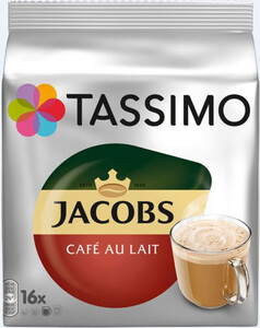 Tassimo Jacobs Café au Lait 16x 11,5 g