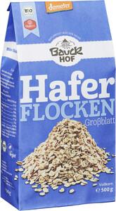 Bauckhof Demeter Bio Haferflocken Großblatt 500g