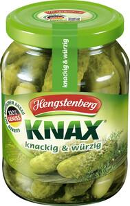 Hengstenberg Knax Gewürzgurken 330 g