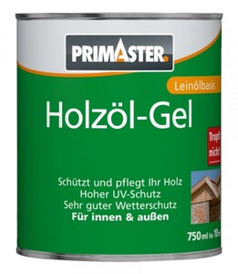 Primaster Holzöl-Gel SF922 750 ml, eiche