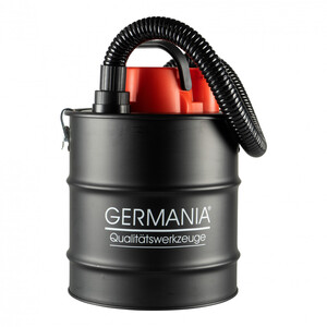 Germania Aschesauger 20 Liter aus Stahl mit 1200 W Motor