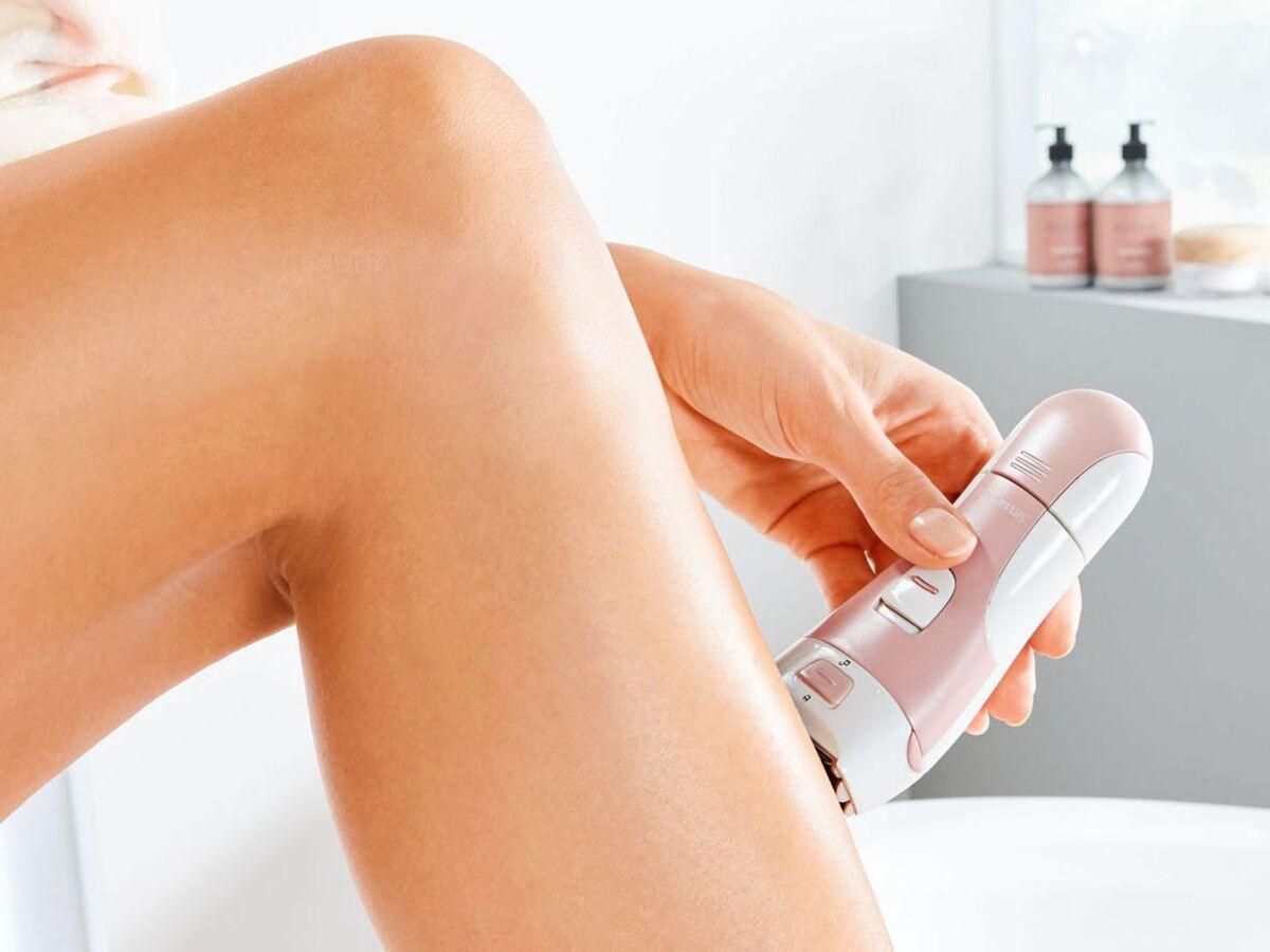 Bild 2 von SILVERCREST® Ladyshaver »SLSN 3 B1«, für Nass- und Trockenrasur, mit Peelingaufsatz