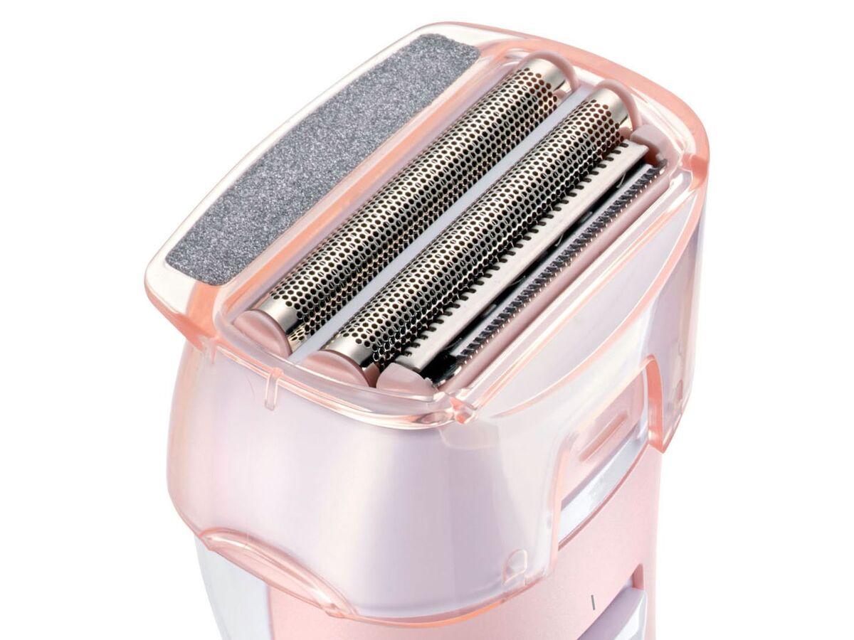 Bild 4 von SILVERCREST® Ladyshaver »SLSN 3 B1«, für Nass- und Trockenrasur, mit Peelingaufsatz