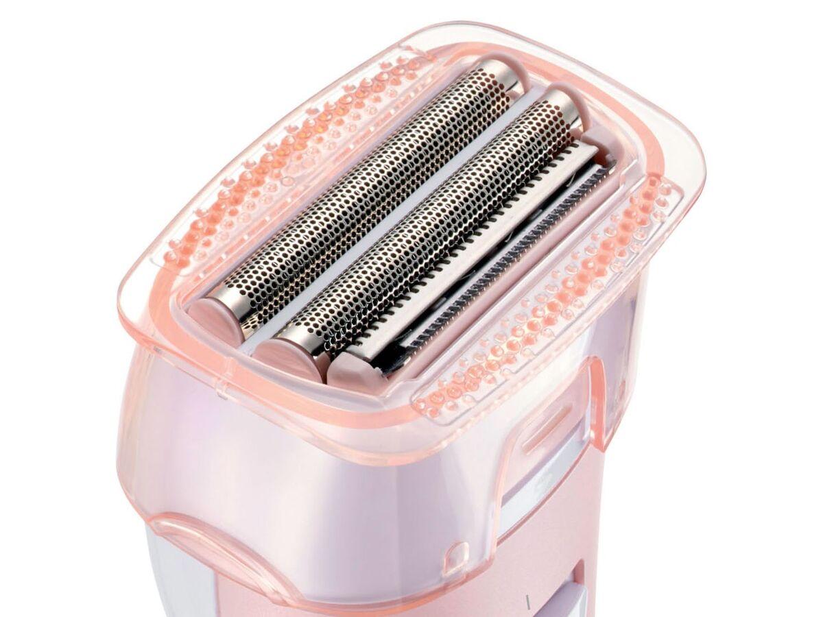 Bild 6 von SILVERCREST® Ladyshaver »SLSN 3 B1«, für Nass- und Trockenrasur, mit Peelingaufsatz