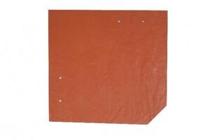 SKAN HOLZ Carport Spreewald 585 x 893 cm mit EPDM-Dach, rote Blende