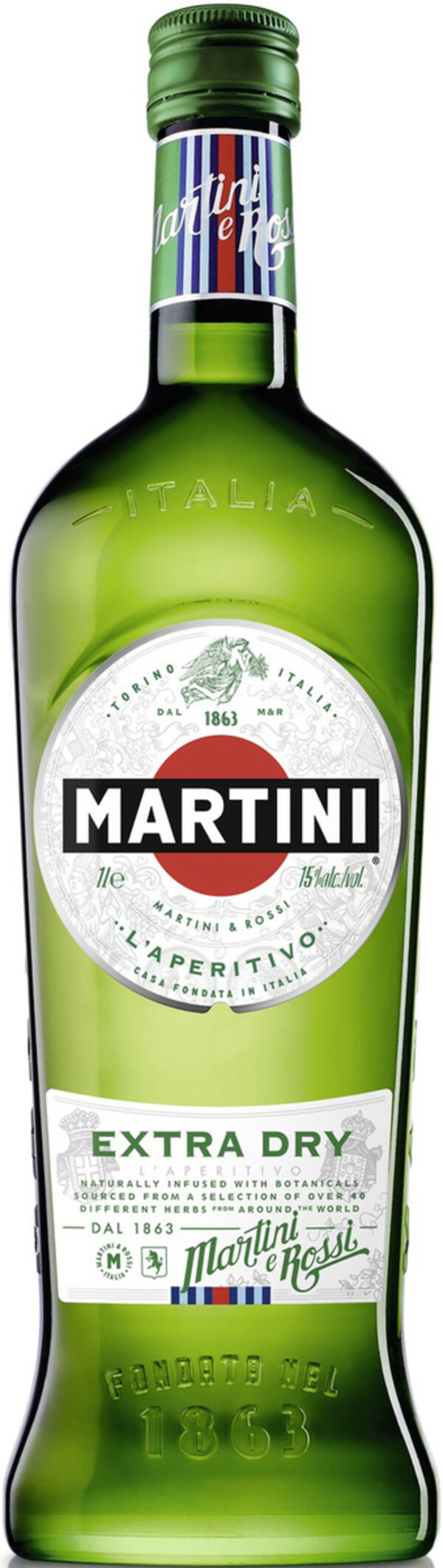 Martini Bianco Extra Dry 0,75 ltr