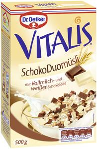 Dr.Oetker Vitalis Schoko Duo Müsli 500 g