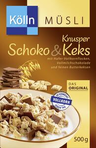 Kölln Müsli Knusper Schoko & Keks 500 g