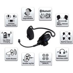 Sena SPH10 Bluetooth Headset Single Pack Kommunikationssystem schwarz