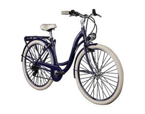 KS Cycling Damenfahrrad Cityrad 6-Gänge Balloon 28 Zoll blau