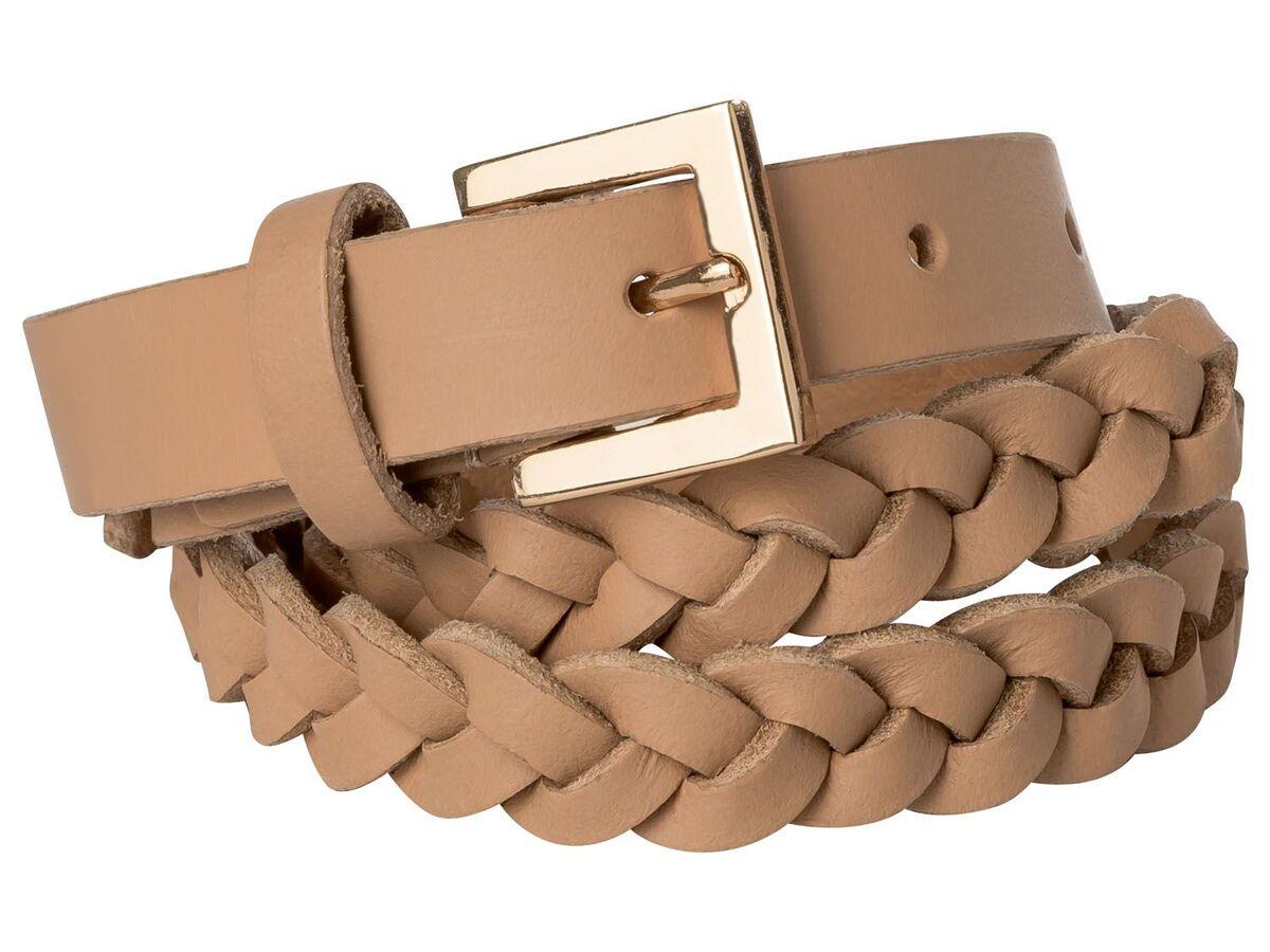 Bild 2 von ESMARA® Ledergürtel Damen, aus echtem Leder
