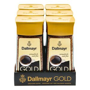 Dallmayr Gold Instantkaffee 200 g, 6er Pack