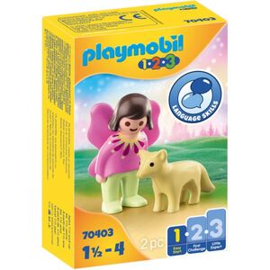 Playmobil® 70403 - Feenfreundin mit Fuchs - Playmobil® 1-2-3