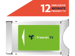 FREENET TV CI+ Modul für DVB-T2 HD inklusive 12 Monate freenet TV Modul