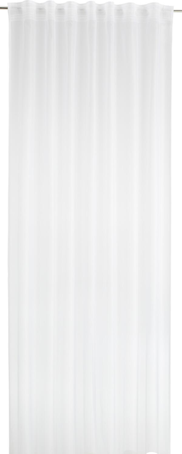 Fertigvorhang Rita in Weiß ca. 140x245cm