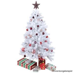Weihnachtsbaum Premium 150-210 cm 530-1220 Zweige weiß Kunststoff
