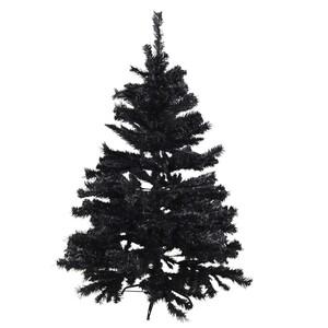 Weihnachtsbaum Premium 120-210cm 304-1220 Zweige künstlich schwarz Kunststoff