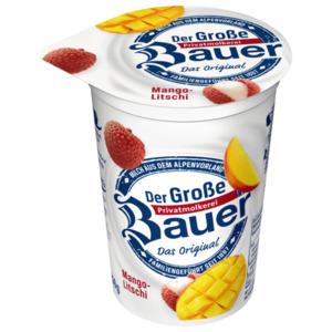 Bauer Fruchtjoghurt Mango-Litschi 250g