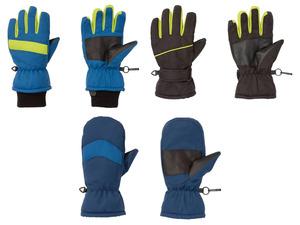 CRIVIT® Skihandschuhe Jungen, verstärkte Handflächen