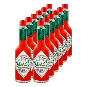 Tabasco Sauce rote Pfeffersauce 60 ml, 12er Pack