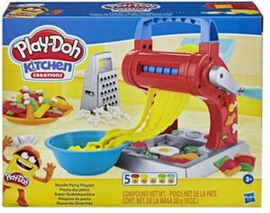 Play-Doh Kitchen - Nudelparty - Knetset