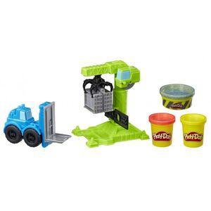 Play-Doh Wheels - Kran und Gabelstapler - Knetset