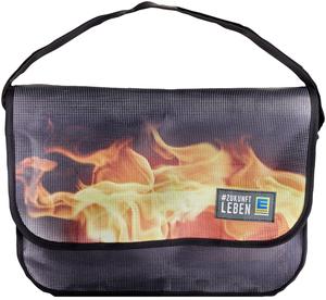 EDEKA Comebag Tasche Motiv -Feuer-