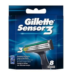 Gillette Sensor3 Ersatzklingen 8 Stück