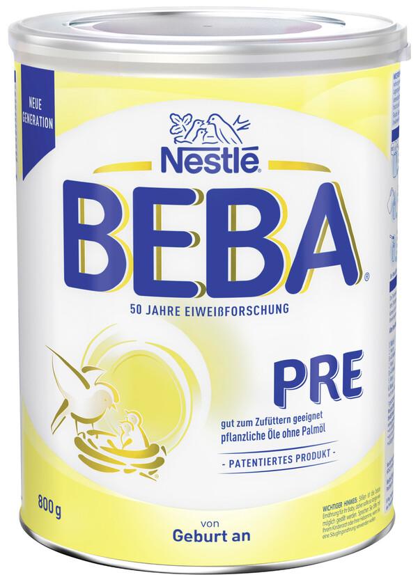 Nestlé Beba Pre von Geburt an 800G