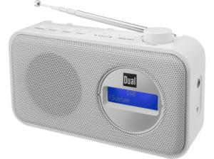 DUAL DAB 84 DAB+ Radio in Weiß