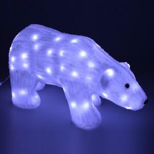 LED Figur Eisbär 50-64cm 80-150LED weiß Acryl kaltweiß IP44 innen und außen