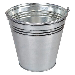 Zinkeimer 12L Metalleimer verzinkt Blecheimer Ascheeimer Eimer Wassereimer