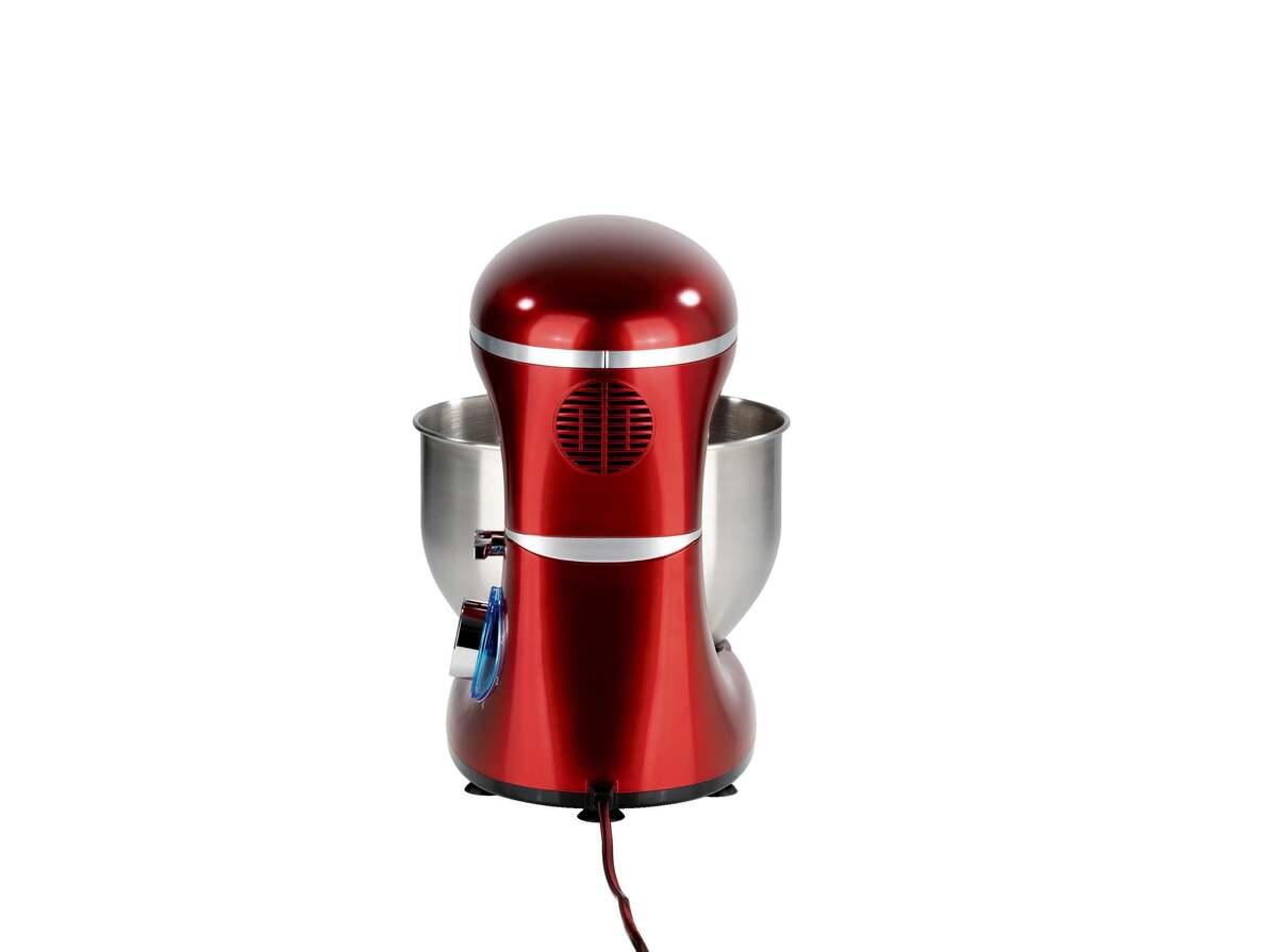 Bild 4 von GOURMETmaxx Küchenmaschine 1500 W rot