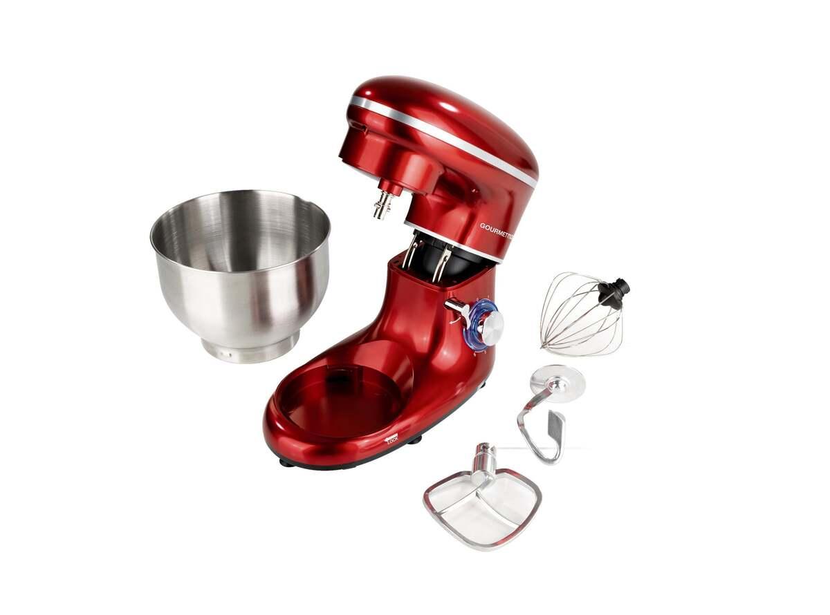 Bild 7 von GOURMETmaxx Küchenmaschine 1500 W rot