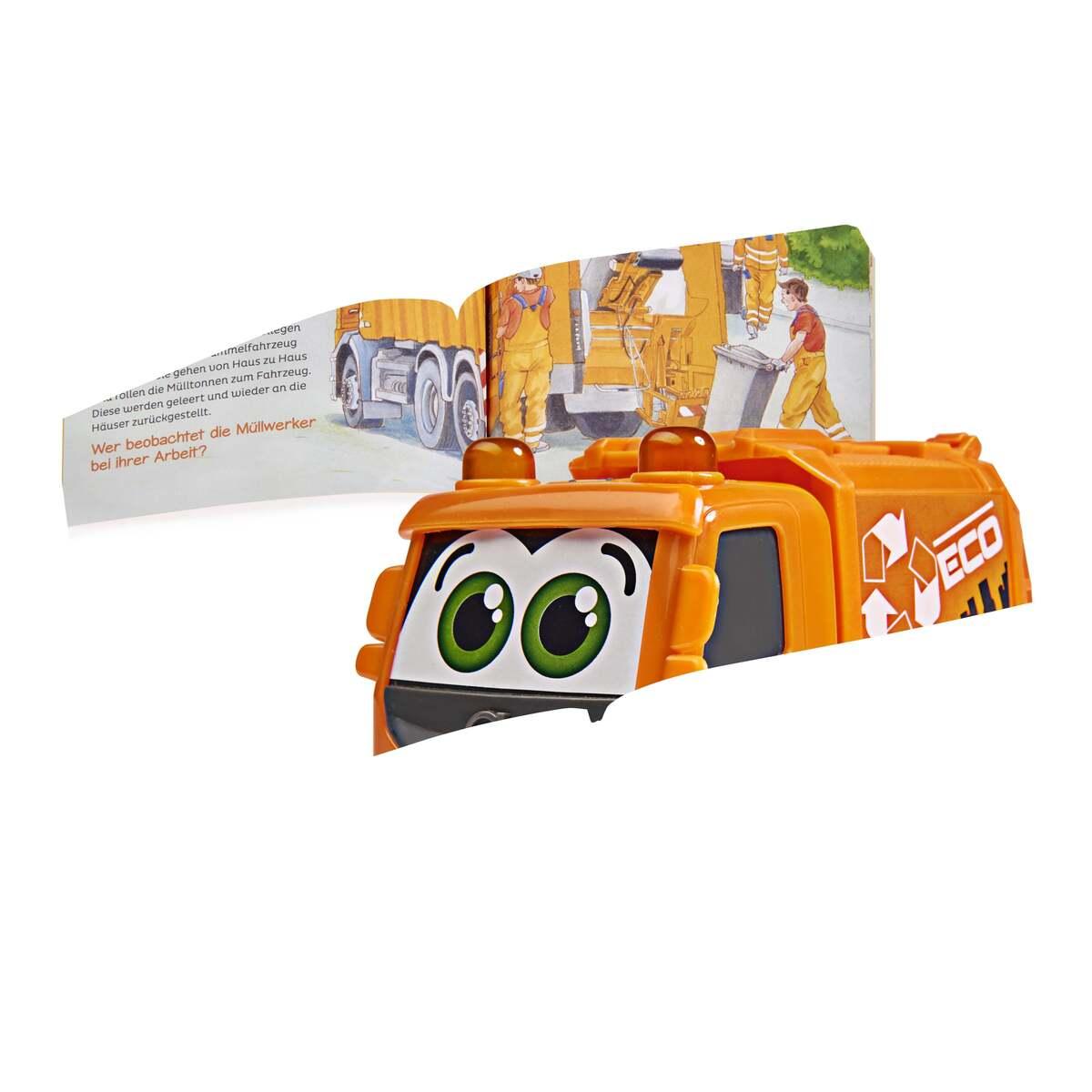 Bild 2 von Dickie Toys Was ist Was - Müllabfuhr Fahrzeug