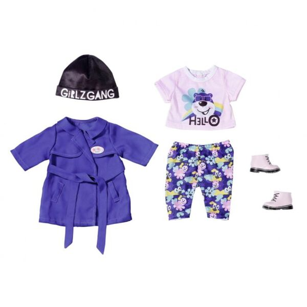 BABY born - Trendiges Outfit - Kalte Tage - 43cm