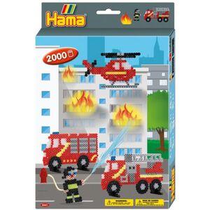 Hama - Bügelperlen Set - Feuerwehr