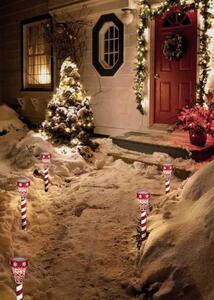 Polarlite LED-Gartenleuchte PSL-02-001 PSL-02-001 Weihnachtsstern LED Rot, Weiß