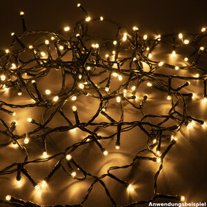 LED Lichterkette 80 LED warmweiß innen/außen