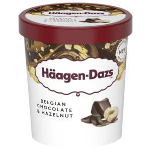 Häagen Dazs Belgian Chocolate & Hazelnut 460ml