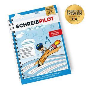 Schreibpilot Lernheft Buchstaben - inkl. Bleistift und Radiergummi