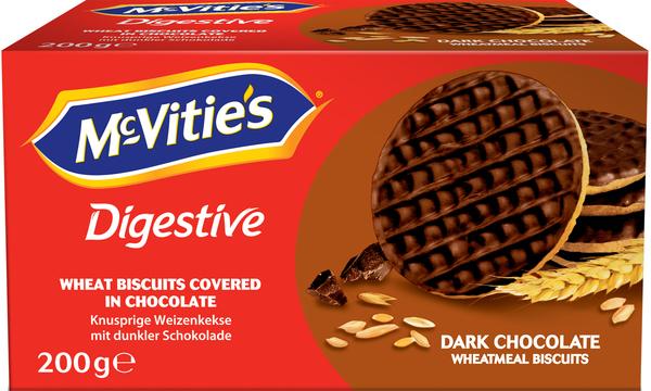 Mc Vities Dark Chocolate Weizenkekse 200 g
