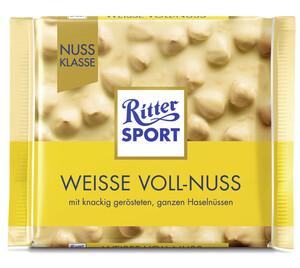 Ritter Sport Weisse Voll-Nuss 100 g