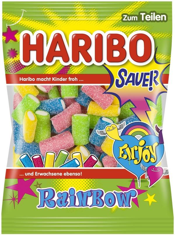 Haribo Rainbow Fizz 175 g