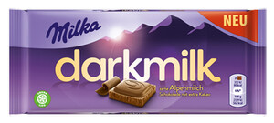 Milka Darkmilk Dunkle Alpenmilch 85 g