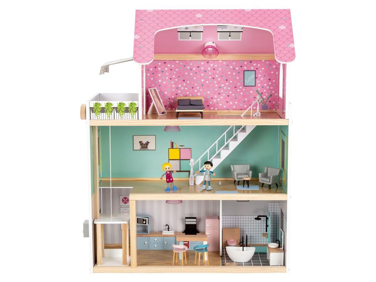 Bild 2 von PLAYTIVE® Puppenhaus