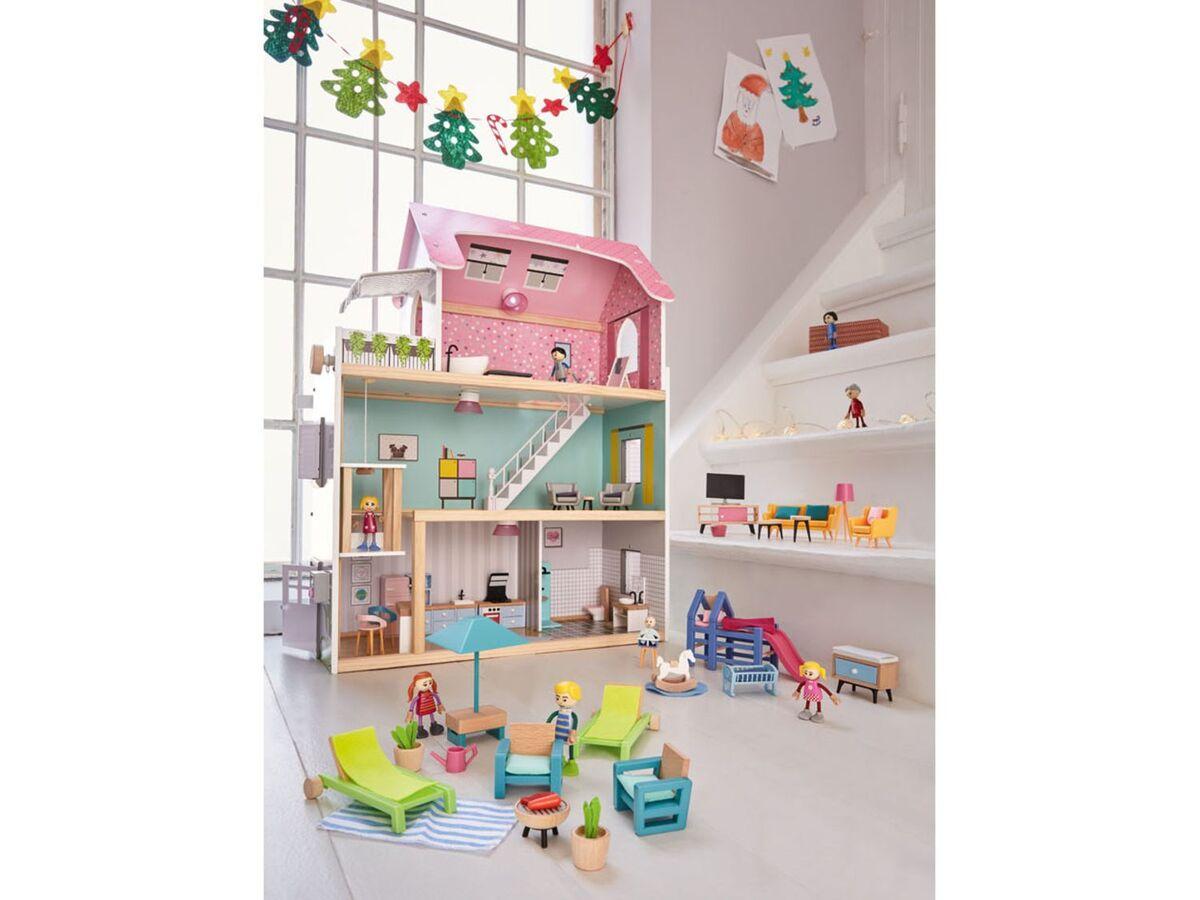 Bild 5 von PLAYTIVE® Puppenhaus