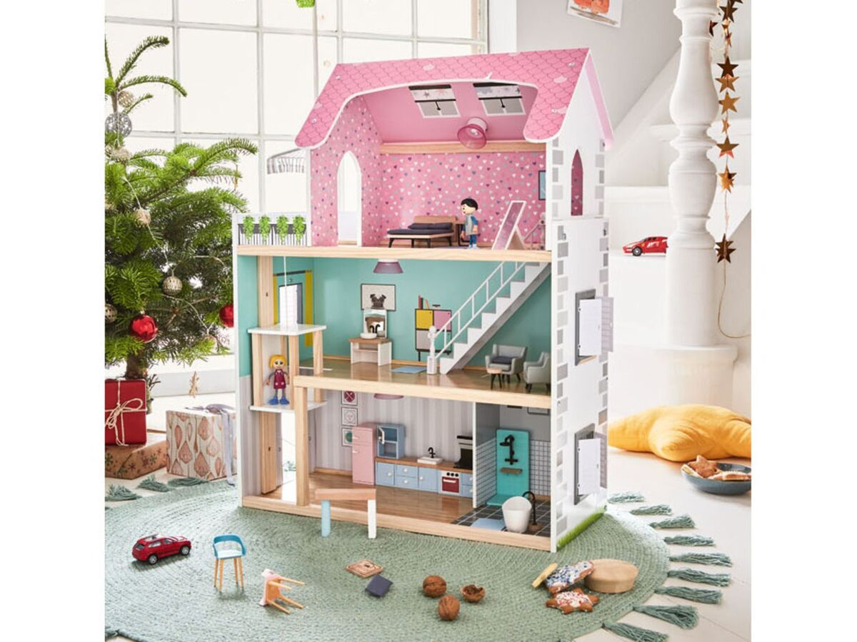 Bild 6 von PLAYTIVE® Puppenhaus