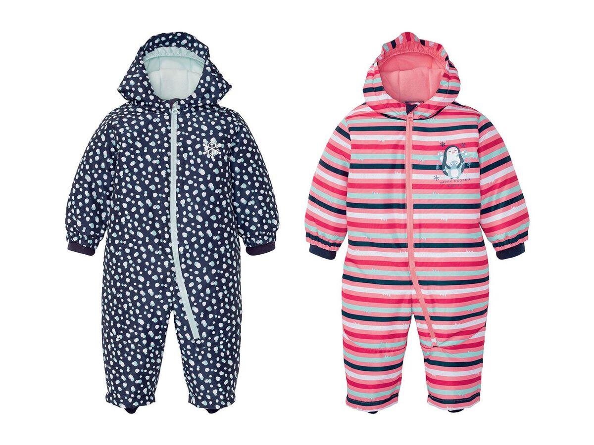 Bild 1 von LUPILU® Baby/Kleinkinder Mädchen Winteroverall, mit umweltfreundlicher Imprägnierung
